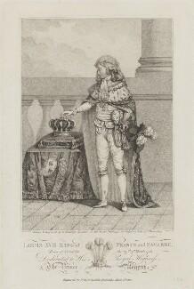 Louis XVII, King of France, by Nicolaus Wilhelm von Heideloff - NPG D15439