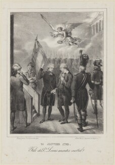 Louis XVI, King of France, by Ferdinand Victor Perrot - NPG D15440