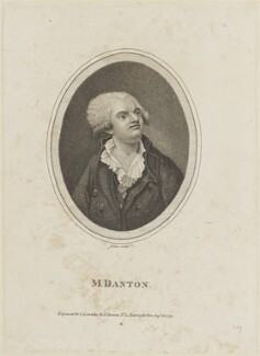 Georges Jacques Danton, by Jones, published by  Charles Lowndes, and published by  John Parsons - NPG D15455