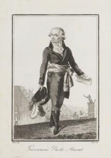 Jean Paul Marat, by Giovanni Antonio Sasso, after  Bosio - NPG D15456