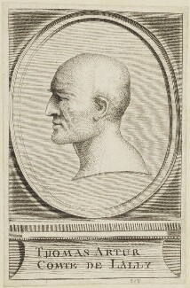 Thomas Arthur O'Mullally (Count Lally de Tolendal), by Unknown engraver - NPG D15464