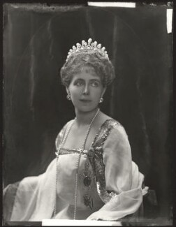 Marie, Queen of Romania, by H. Walter Barnett - NPG x81689
