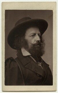 Alfred, Lord Tennyson, by James Mudd - NPG x13231