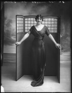 Violet Loraine, by Bassano Ltd, 3 August 1912 - NPG x101540 - © National Portrait Gallery, London
