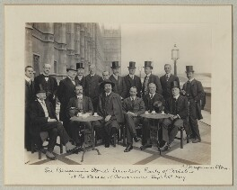 Luncheon party to French and English Aviators, by Benjamin Stone, 15 September 1909 - NPG x126223 - © National Portrait Gallery, London