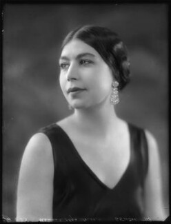 Madame Olga Alexeeva, by Bassano Ltd, 24 March 1925 - NPG x123233 - © National Portrait Gallery, London