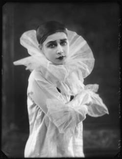 Madame Olga Alexeeva, by Bassano Ltd, 24 March 1925 - NPG x123235 - © National Portrait Gallery, London