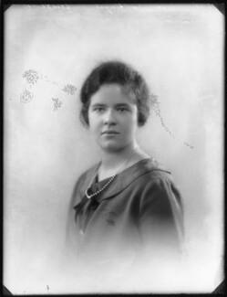 Hon. Mary Diana Eve Chetwynd, by Bassano Ltd - NPG x123246