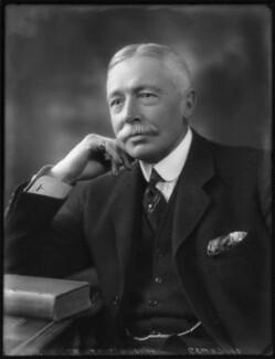Sir Charles Campbell McLeod, 1st Bt, by Bassano Ltd - NPG x123248