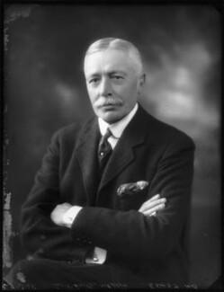 Sir Charles Campbell McLeod, 1st Bt, by Bassano Ltd - NPG x123249