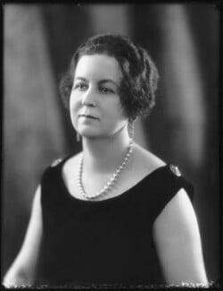 Hon. Rosamond Anderson (née Tufton), by Bassano Ltd, 10 March 1925 - NPG x123256 - © National Portrait Gallery, London