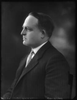 Sir Frank Hillyard Newnes, 2nd Bt, by Bassano Ltd - NPG x123272
