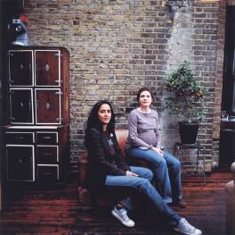 Geetie Singh; Ester Boulton, by Laurie Fletcher - NPG x126249