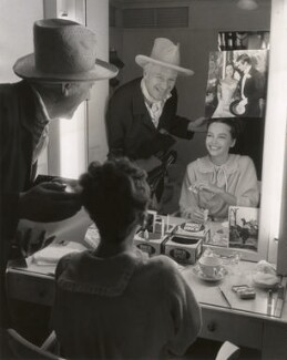 Cecil Beaton; Leslie Caron, by Lou Jacobs Jr - NPG x40511