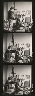 Lucian Freud; Anne Geraldine Fleming, by Cecil Beaton - NPG x40102