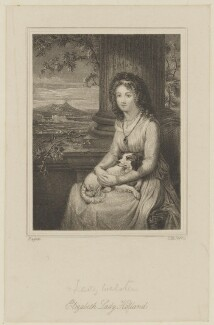 Elizabeth Vassall Fox (née Vassall), Lady Holland (formerly Webster), by Charles Henry Jeens, after  Robert Fagan - NPG D15479