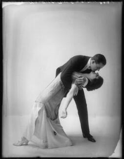 Florence Walton; Maurice Mouvet, by Bassano Ltd - NPG x101577