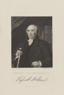 Henry Richard Fox (later Vassall), 3rd Baron Holland, by John Henry Robinson, published by  Fisher Son & Co, after  Charles Robert Leslie - NPG D15491