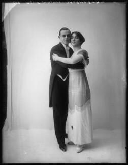 'Maurice and Walton' (Maurice Mouvet; Florence Walton), by Bassano Ltd - NPG x101578