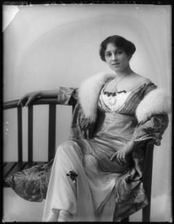Florence Walton, by Bassano Ltd - NPG x101580