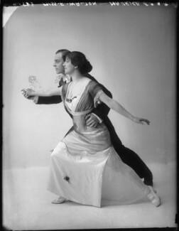 'Maurice and Walton' (Maurice Mouvet; Florence Walton), by Bassano Ltd - NPG x101581