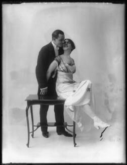 'Maurice and Walton' (Maurice Mouvet; Florence Walton), by Bassano Ltd - NPG x101582