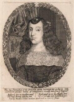 Catherine of Braganza, after Dirk Stoop, 1656-1662 - NPG D18435 - © National Portrait Gallery, London