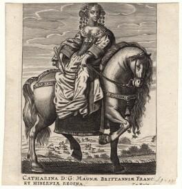 Catherine of Braganza, by Theodorus Merlen, after  Unknown artist - NPG D18436