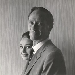 Audrey Hepburn; Melchior Gaston ('Mel') Ferrer, by Cecil Beaton, January 1960 - NPG x40182 - © Cecil Beaton Studio Archive, Sotheby's London