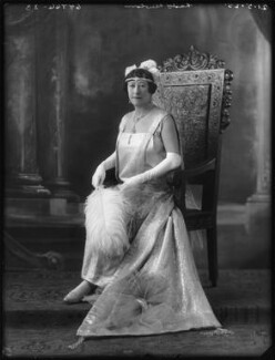 Henrietta S. (née Cloete), Lady Newton, by Bassano Ltd, 21 May 1925 - NPG x123322 - © National Portrait Gallery, London