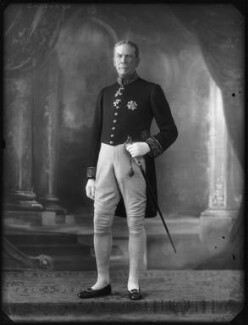 Sir Francis James Newton, by Bassano Ltd - NPG x123323