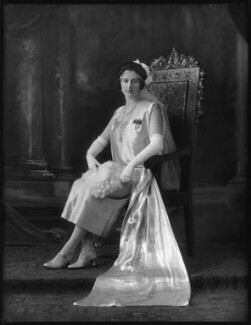 Lady Gladys Honor Bridgeman (née Ward), by Bassano Ltd - NPG x123331