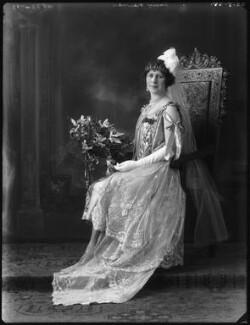 Emmeline Augusta Louisa (née de Rutzen), Lady Newnes, by Bassano Ltd - NPG x123336