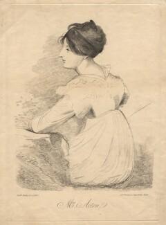 Francis Elizabeth Acton ('Mrs Acton'), by John Grove Spurgeon, after  Sir William Beechey, circa 1803 - NPG D18443 - © National Portrait Gallery, London