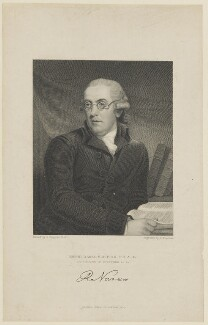 Robert Nares, by Samuel Freeman, published by  Fisher Son & Co, after  John Hoppner - NPG D15508