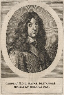 King Charles II, after Jan van den Hoeck (Hoecke) - NPG D18451