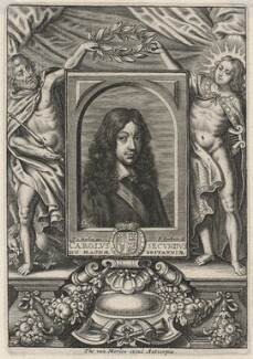 King Charles II, by Frederik Bouttats the Younger, after  Jan van den Hoeck (Hoecke) - NPG D18452