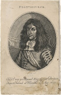 King Charles II, by Boocock - NPG D18458