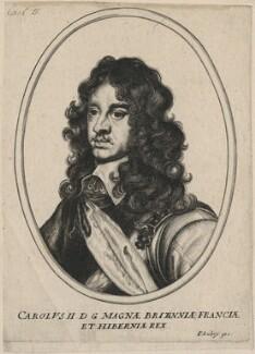 King Charles II, after Adriaen Hanneman - NPG D18459