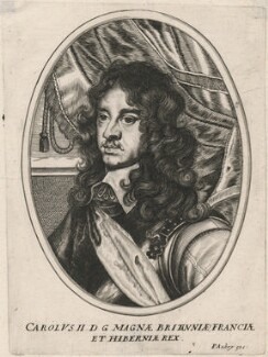 King Charles II, after Adriaen Hanneman - NPG D18460