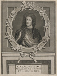 King Charles II, by Pieter Stevens van Gunst, after  John Riley - NPG D18466