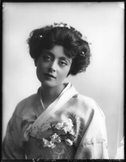 Florence Smithson as O Hana San in 'The Mousmé' (The Maids in Japan), by Bassano Ltd - NPG x101586