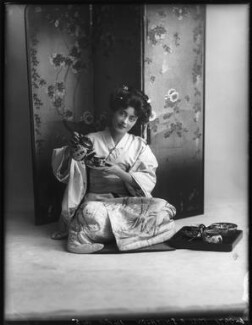 Florence Smithson as O Hana San in 'The Mousmé' (The Maids in Japan), by Bassano Ltd - NPG x101589