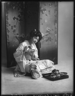Florence Smithson as O Hana San in 'The Mousmé' (The Maids in Japan), by Bassano Ltd, 17 October 1911 - NPG  - © National Portrait Gallery, London