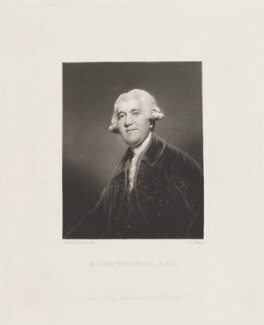 Josiah Wedgwood, by George Salisbury Shury, published by  Henry Graves, after  Sir Joshua Reynolds - NPG D15576