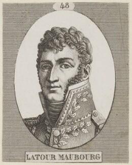 Marie Charles César de Fay, comte de Latour Maubourg, by Unknown artist - NPG D15589
