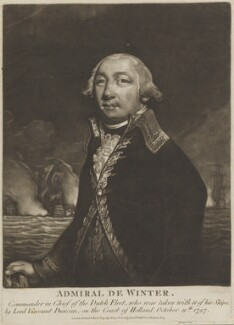 Jan Willem de Winter, published by John Evans, and published by  George Thompson - NPG D15602