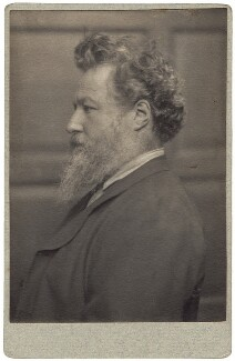 William Morris, by Frederick Hollyer - NPG x3721