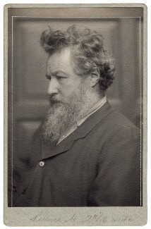 William Morris, by Frederick Hollyer - NPG x1514