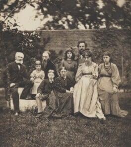The Burne-Jones and Morris families, by Frederick Hollyer - NPG x11881